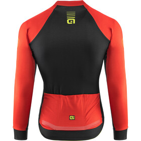 Alé Cycling Graphics PRR Thermo Road LS Jersey Men red-fluo yellow